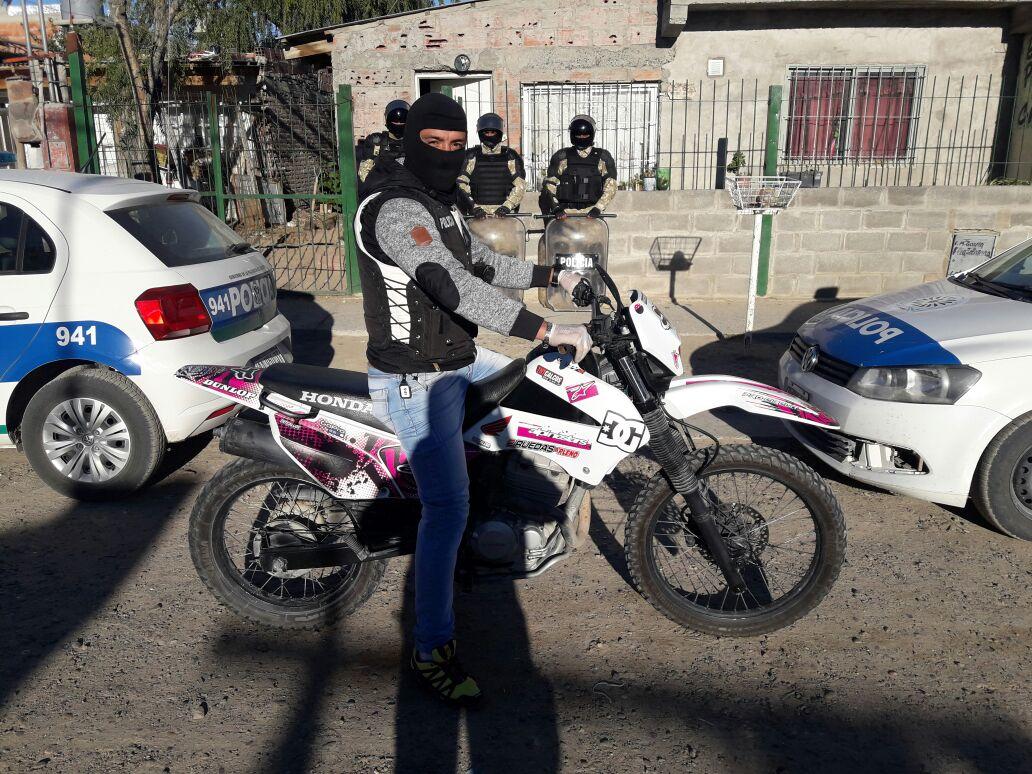Madryn: Casi 20 allanamientos para desbaratar asociación ilícita dedicada a cometer robos