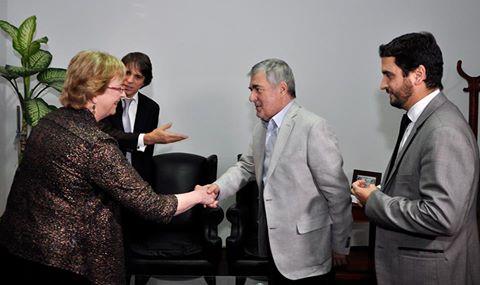 Das Neves recibió a la jurista norteamericana Valerie Hans