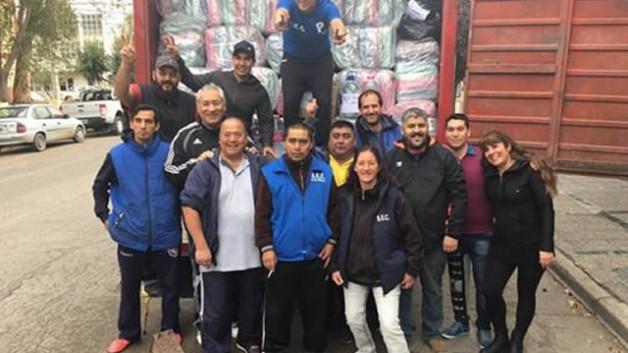 Los empleados de comercio comenzaron a juntar alimentos no perecederos, higiene personal y ropa en los diferentes puntos del SEC, tanto en Trelew, Puerto Madryn, Rawson y Gaiman.
