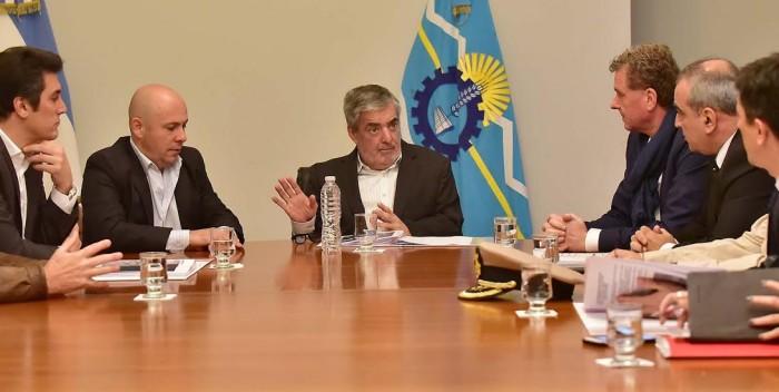 Das Neves recibió al Secretario de  Seguridad del Interior de la Nación