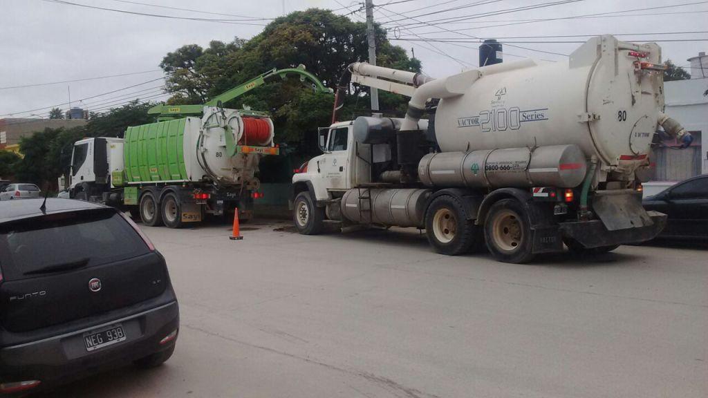 Servicoop colaboró con la Municipalidad en el Mantenimiento de los pluviales
