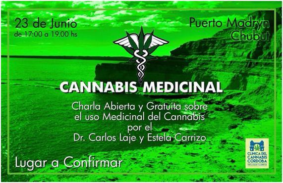 "Charla sobre ""Cannabis medicinal"""
