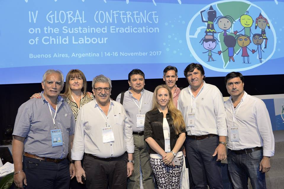 UATRE  se encuentra participando de la IV Conferencia Mundial sobre la Erradicación del Trabajo Infantil