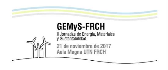 Se realizarán las II jornadas de energías, materiales y sustentabilidad en UTN