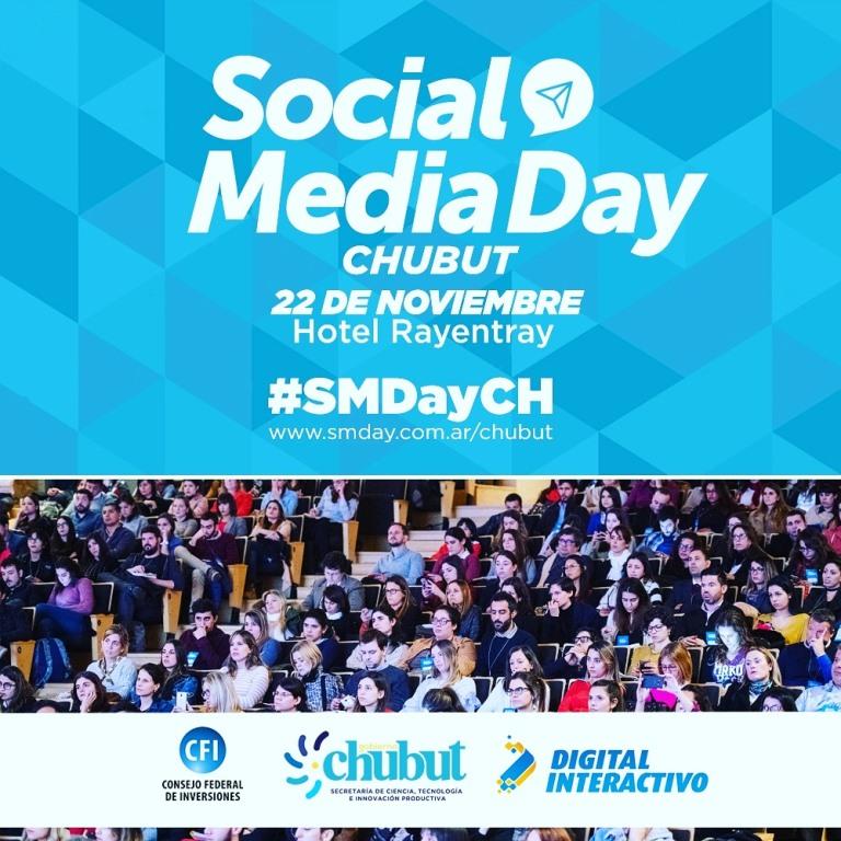 Todo listo para el Social Media Day Chubut 2019: Google, Facebook y nuevas tendencias
