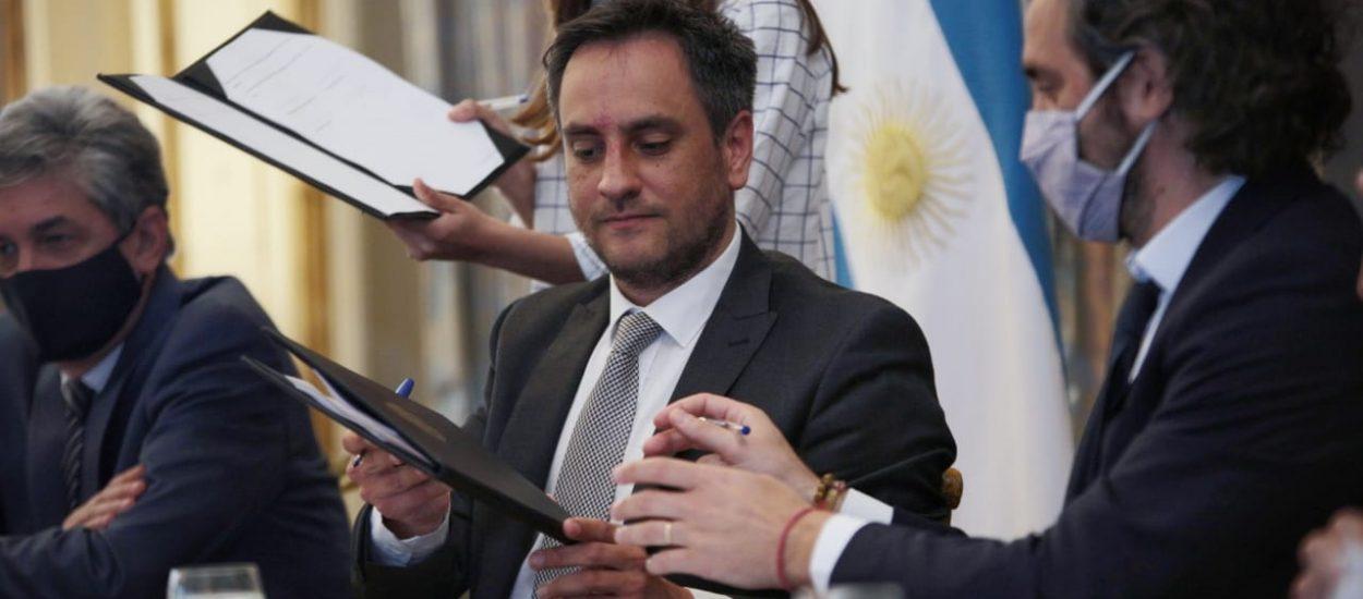 CHUBUT PARTICIPÓ DE LA FIRMA DE CONVENIOS CON NACIÓN PARA LA ERRADICACIÓN DE BASURALES A CIELO ABIERTO