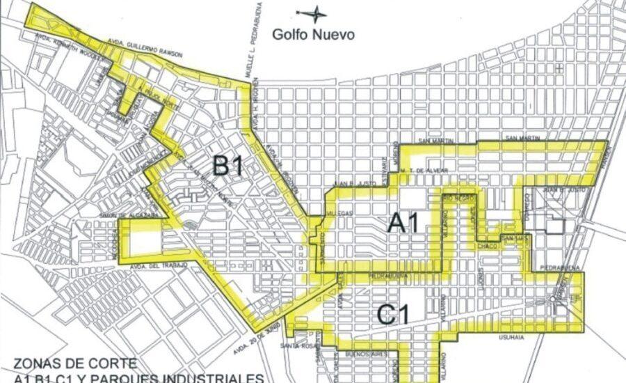CORTE DE AGUA PARA LA ZONA 1 – PLAN VERANO