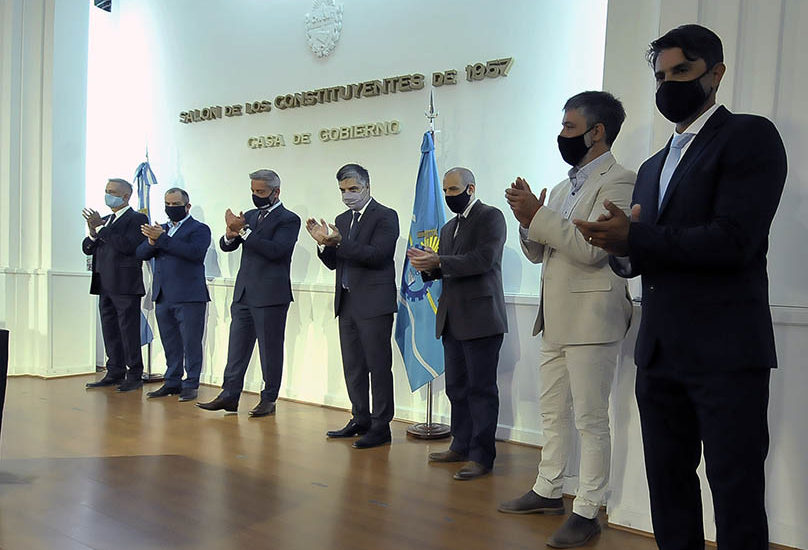 ARCIONI PUSO EN FUNCIONES A SUBSECRETARIOS DEL MINISTERIO DE INFRAESTRUCTURA, ENERGÍA Y PLANIFICACIÓN