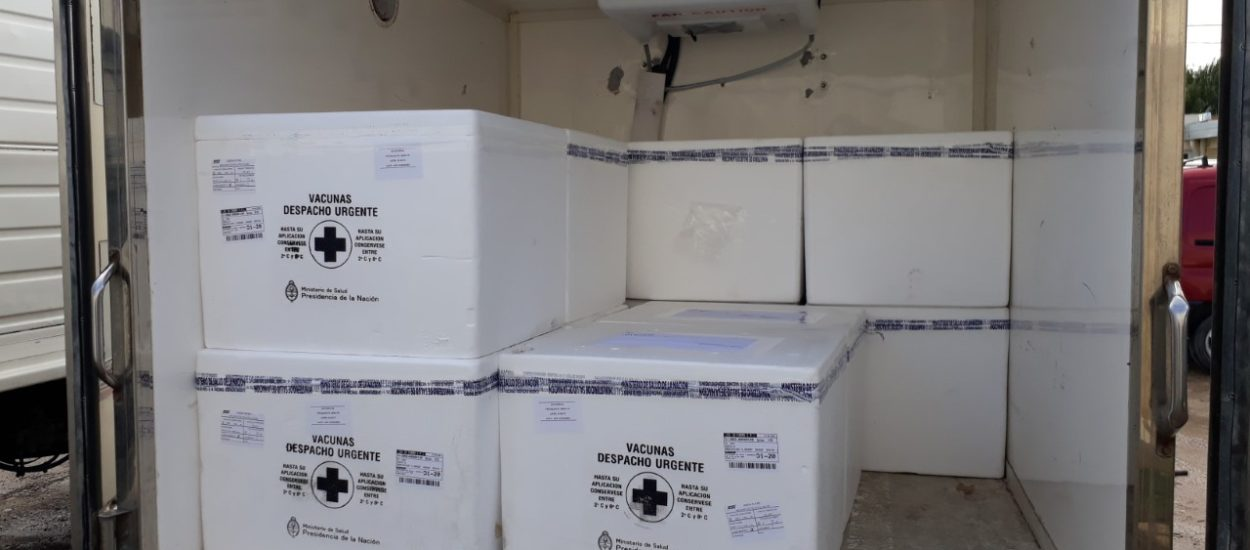 CHUBUT RECIBIÓ PRIMER LOTE DE 18.480 VACUNAS ANTIGRIPALES DE NACIÓN