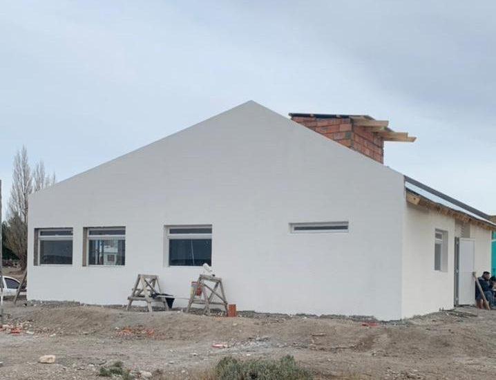 PROVINCIA Y LA COMUNA DE TELSEN TRABAJAN EN LA CONSTRUCCIÓN DE UNA SALA DE PRIMEROS AUXILIOS EN ALDEA SEPAUCAL