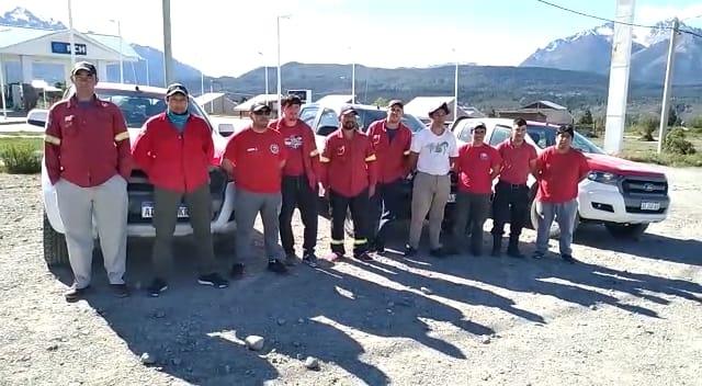 CHUBUT ENVÍA BRIGADISTAS PARA CONTROLAR UN INCENDIO EN LA RIOJA
